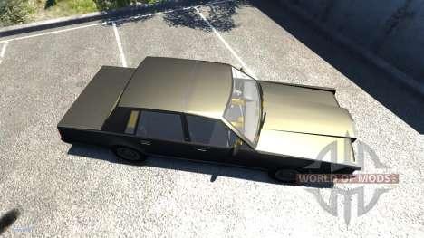 Lincoln Town Car 1985 für BeamNG Drive