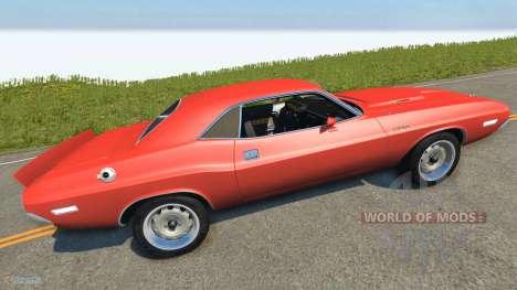 Dodge Challenger für BeamNG Drive