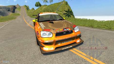 Subaru Impreza WRX pour BeamNG Drive