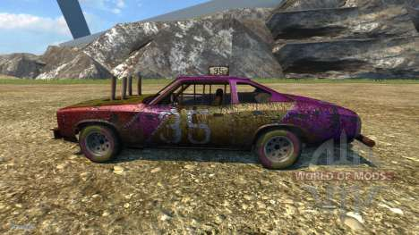 Moonhawk Derby pour BeamNG Drive