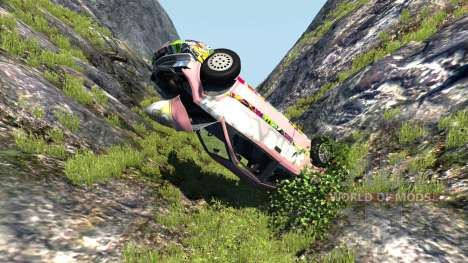 Ibishu Covet Angry Birds für BeamNG Drive