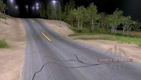 Nouvelle asphalte pour Spin Tires