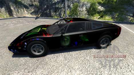 Civetta Bolide Super Blue v2.0 pour BeamNG Drive