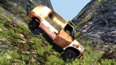 Gavril H-Series Rusty für BeamNG Drive