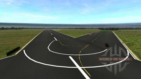 Emplacement TopGear Piste pour BeamNG Drive