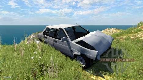 VAZ-Lada 21099 Satellite pour BeamNG Drive