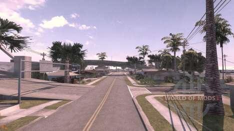 Grove street - carte pour BeamNG Drive