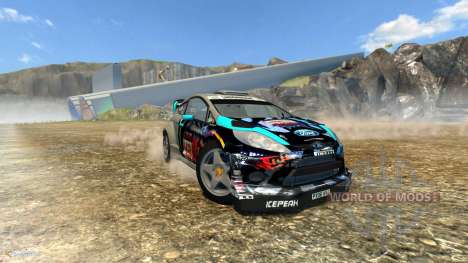 Ford Fiesta pour BeamNG Drive