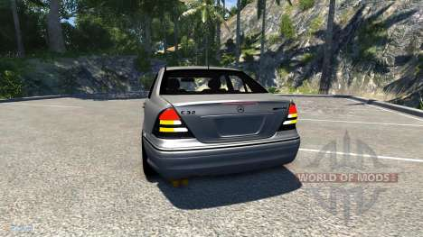 Mercedes-Benz C32 AMG für BeamNG Drive