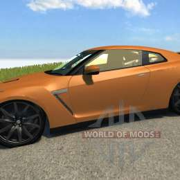 Nissan GT-R pour BeamNG Drive