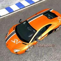Lamborghini Aventador pour BeamNG Drive