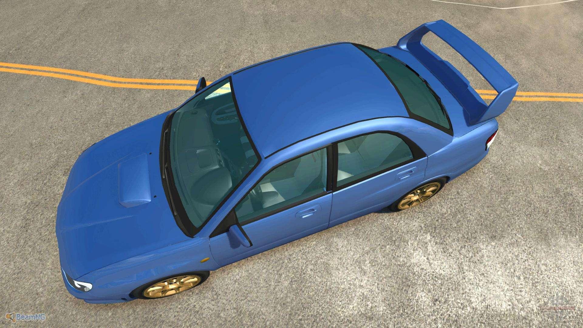 Subaru Impreza Wrx Sti F 252 R Beamng Drive