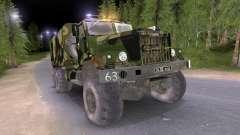 Camion KrAZ Camo v2