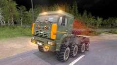 Camions Pak et KrAZ