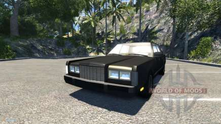 Lincoln Town Car 1985 für BeamNG Drive