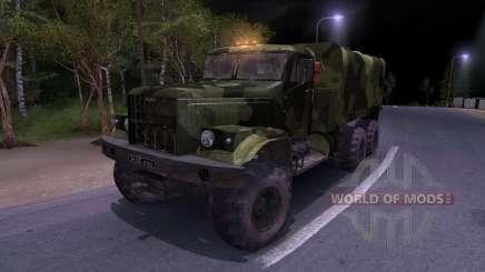 Camion KrAZ Camo pour Spin Tires