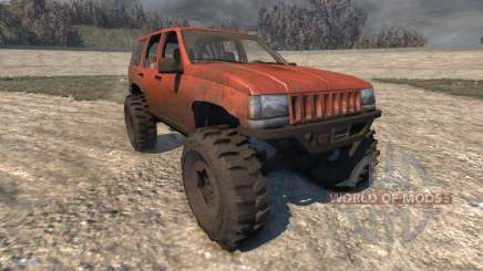 Jeep Grand Cherokee Trail für BeamNG Drive