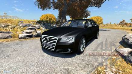 Audi A8L für BeamNG Drive