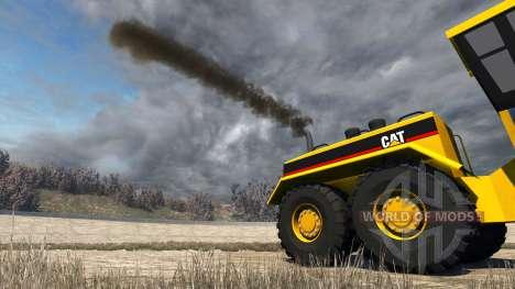 Caterpillar 24H Grader für BeamNG Drive