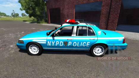 Ford Crown Victoria NYPD für BeamNG Drive