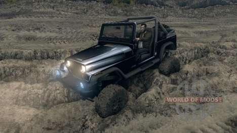 Jeep Wrangler YJ Sahara für Spin Tires