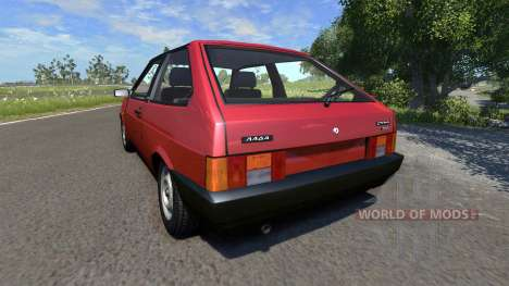 ВАЗ-21083i v1.1 LADA Samara pour BeamNG Drive