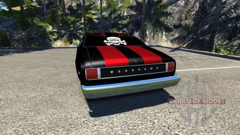 Bruckell Moonhawk The Fast and the Furious pour BeamNG Drive