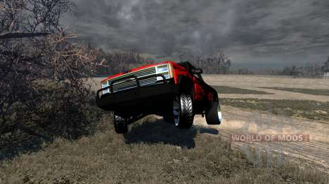 Gavril D-Series Powerful Drag pour BeamNG Drive