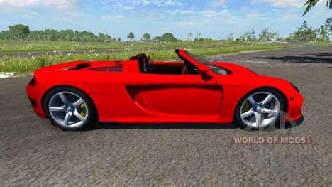 Porsche Carrera GT pour BeamNG Drive
