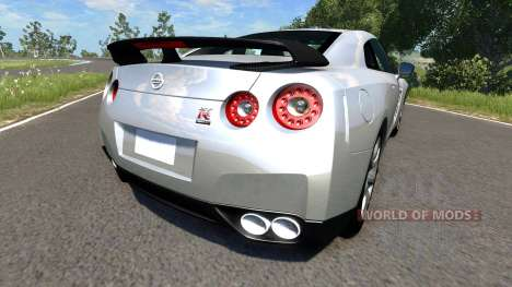 Nissan GT-R R35 Spec V pour BeamNG Drive