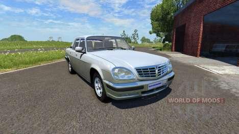 GAZ-31105 Wolga für BeamNG Drive