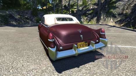 Cadillac Series 62 Convertible 1949 pour BeamNG Drive