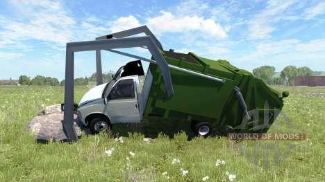 Gavril H-Series Garbage Truck für BeamNG Drive
