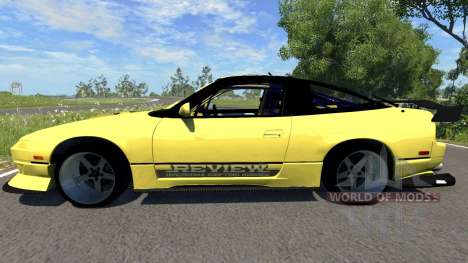 Nissan 180SX pour BeamNG Drive