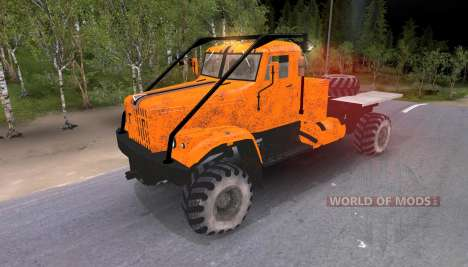 Pak camions v8.0 pour Spin Tires