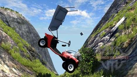 Voiturette de Golf pour BeamNG Drive