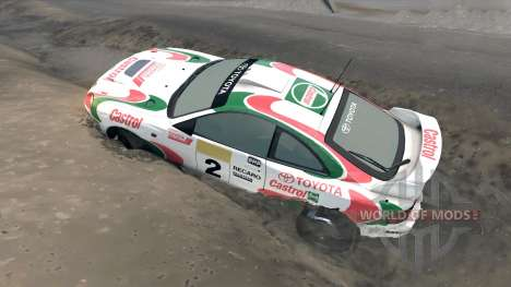 Toyota Celica GT Four ST205 Rally für Spin Tires