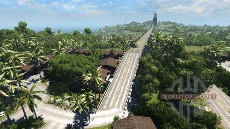 Emplacement-l'île du Paradis pour BeamNG Drive