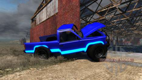 Gavril D-Series Neon Monster pour BeamNG Drive