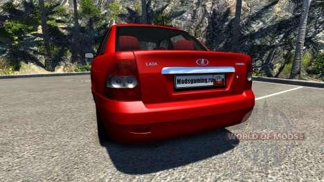 ВАЗ-Lada Priora 2170 v2.1 für BeamNG Drive
