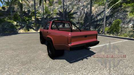 Gavril D-Series Dually 2 für BeamNG Drive