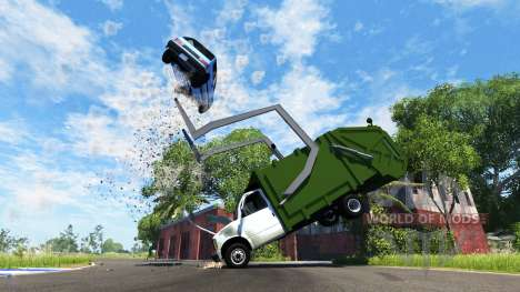 Gavril H-Series Garbage Truck pour BeamNG Drive
