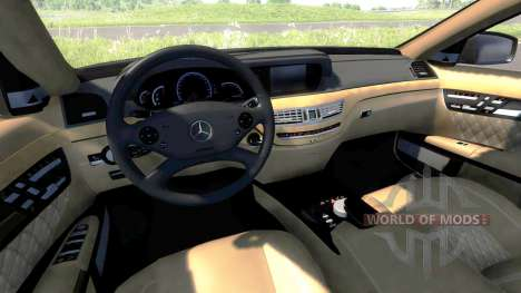 Mercedes-Benz S65 AMG 2012 pour BeamNG Drive