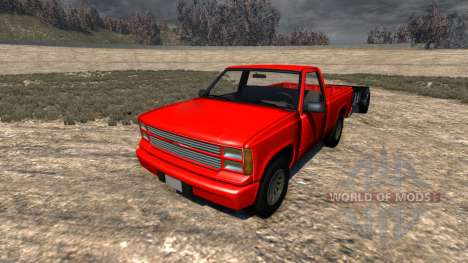 Gavril D-Series Trailer pour BeamNG Drive