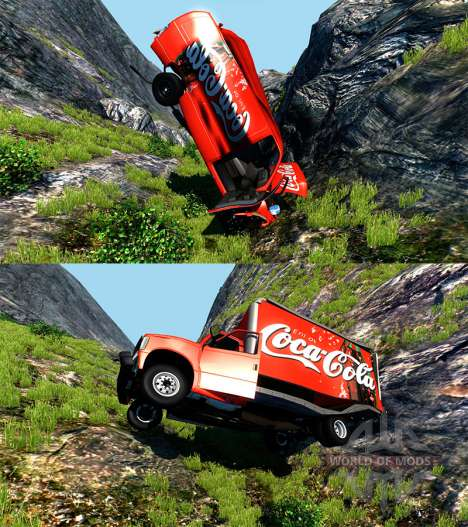 Gavril H-Series Coca-Cola pour BeamNG Drive