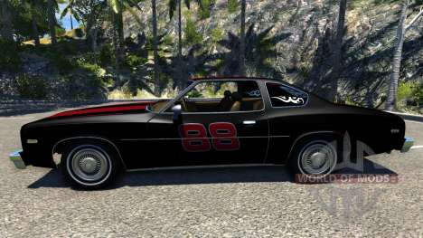 Bruckell Moonhawk The Fast and the Furious für BeamNG Drive