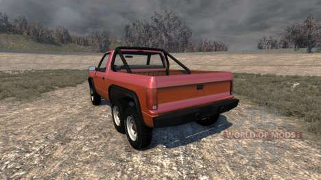 Gavril D-Series 6x6 pour BeamNG Drive