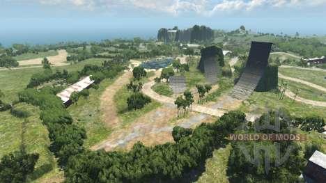 Lage-Paradise island für BeamNG Drive