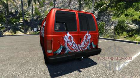 Gavril H-Series Coca-Cola pour BeamNG Drive