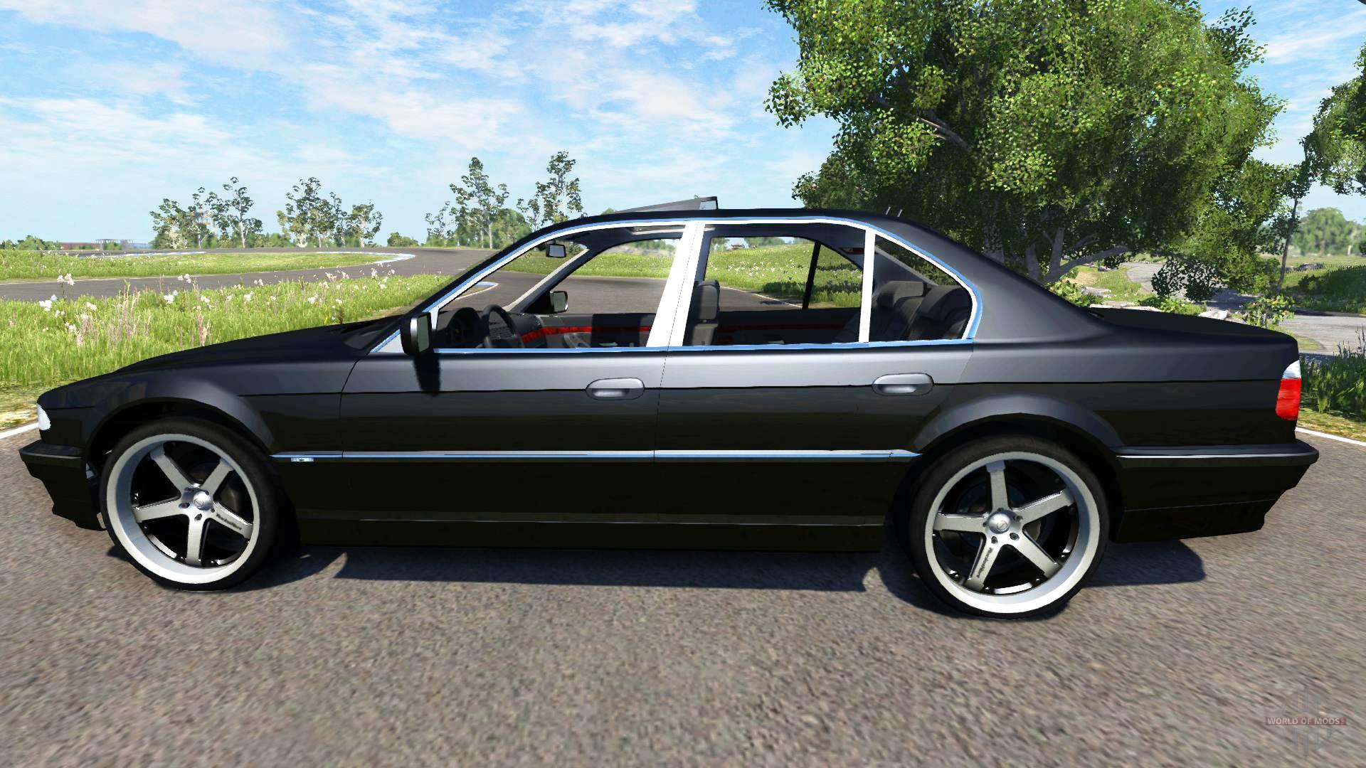 Bmw 740i E38 F 252 R Beamng Drive